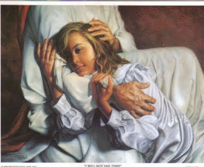 Jesus Holding
